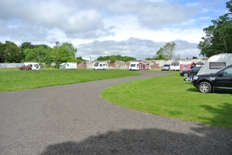 Fully booked caravan site
