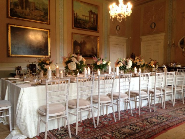 Paxton House Dining room wedding